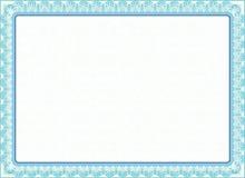 Сертификат, диплом для печати Стоковое фото RF