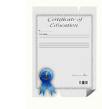 Сертификат образования Стоковое Фото