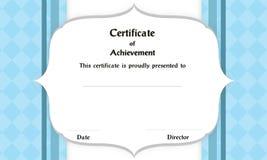 Сертификат рамки стоковые фотографии rf