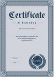 сертификат Стоковые Изображения