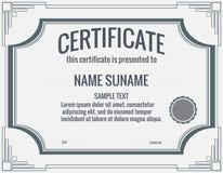 сертификат стоковые фото