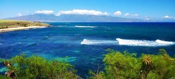 серферы парка рая hookipa пляжа Стоковые Фотографии RF