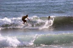 Серфер в Сардинии Стоковое Изображение