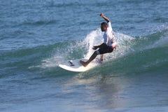 Серфер в Сардинии Стоковое фото RF