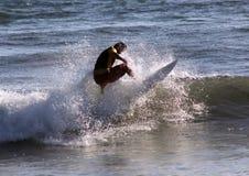 Серфер в Сардинии Стоковые Фото