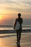 серфер девушки Стоковое Изображение