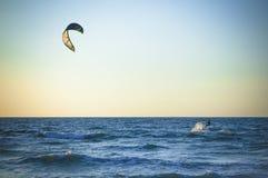 Серфер моря фото далеко Стоковое Фото
