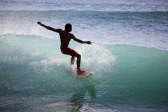 серфер океана Стоковая Фотография RF