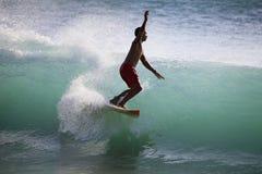 серфер океана Стоковое Фото