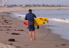 серфер пляжа Стоковые Фото