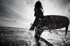 серфер Стоковая Фотография RF
