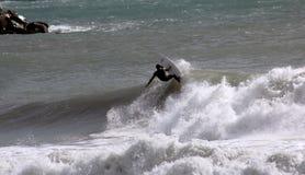 серфер levanto стоковые изображения