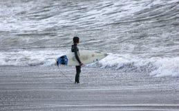 серфер levanto стоковое изображение
