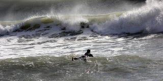 серфер levanto стоковые фотографии rf