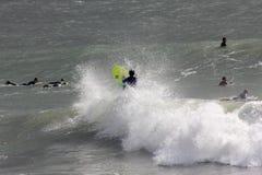 серфер levanto стоковая фотография rf