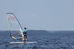 серфер regatta Стоковое Фото