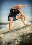 Серфинг бодрствования стоковые фотографии rf