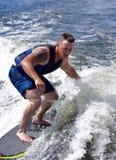Серфинг бодрствования Стоковая Фотография