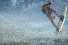 Серфинг змея Стоковые Изображения