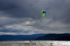 Серфинг змея Стоковая Фотография