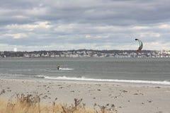 Серфинг змея стоковая фотография rf