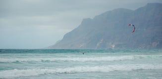 Серфинг пляжа Caleta Ла Стоковая Фотография