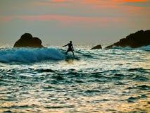 Серфинг Стоковые Фотографии RF