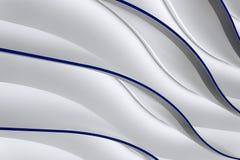 Серые волны градиента Стоковая Фотография