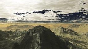 Серые горы 2 Иллюстрация вектора