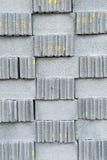Серые каменные текстура или предпосылка стены кирпичей Стоковые Фотографии RF