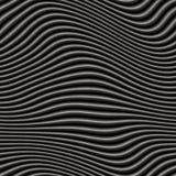 серые металлические волны Стоковая Фотография