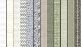 Серые образцы Masonry Стоковые Изображения