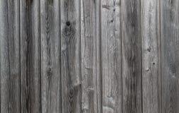 Серые пакостные старые доски древесины Стоковая Фотография
