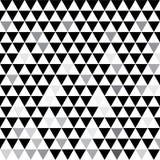 Серые треугольники Творческая иллюстрация в стиле полутонового изображения с градиентом Совершенно новый стиль для вашего дизайна иллюстрация вектора