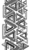 Серые треугольники Стоковая Фотография RF