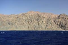 Серые холмы и утесы в Египте Стоковое Изображение