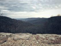Серые цвета в горе Стоковые Фото
