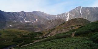 Серые цвета и пик Torreys стоковое изображение