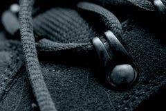 серые шнурки Стоковое Изображение RF