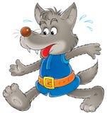 серый волк бесплатная иллюстрация
