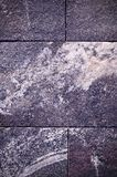 Серый гранит крыл предпосылку черепицей с виньеткой архитектура, текстура Стоковое Фото