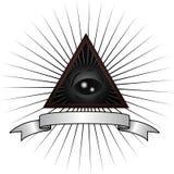 Серый глаз чужеземца Стоковое Изображение RF