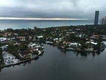 Серый день в Флориде Стоковые Изображения RF