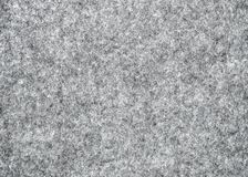 Серый естественный войлок как предпосылка Стоковое фото RF