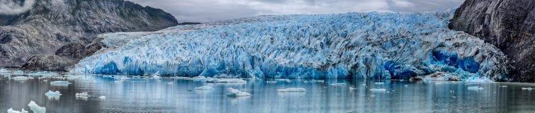Серый ледник на Torres del Paine N P Патагония, Чили Стоковое Фото