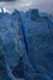 Серый ледник, Torres del Paine, Патагония, Чили Стоковые Изображения
