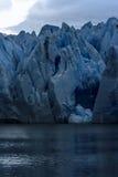Серый ледник, Torres del Paine, Патагония, Чили Стоковые Изображения RF