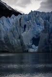 Серый ледник, Torres del Paine, Патагония, Чили Стоковое Фото
