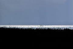 Серый заход солнца Стоковое Изображение RF