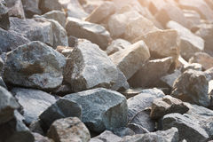 серый камень Утесистая предпосылка Стоковые Фотографии RF